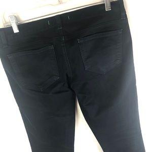 J BRAND black skinny jeans 26